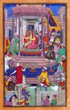Bāburnāma (Chagatai/Persian: بابر نامہ;´, literally: 'Book of Babur' or 'Letters of Babur'; alternatively known as Tuzk-e Babri) is the name given to the memoirs of Ẓahīr ud-Dīn Muḥammad Bābur (1483-1530), founder of the Mughal Empire and a great-great-great-grandson of Timur. It is an autobiographical work, originally written in the Chagatai language, known to Babur as 'Turki' (meaning Turkic), the spoken language of the Andijan-Timurids.<br/><br/>  Because of Babur's cultural origin, his prose is highly Persianized in its sentence structure, morphology, and vocabulary, and also contains many phrases and smaller poems in Persian. During Emperor Akbar's reign, the work was completely translated to Persian by a Mughal courtier, Abdul Rahīm, in AH 998 (1589-90 CE).